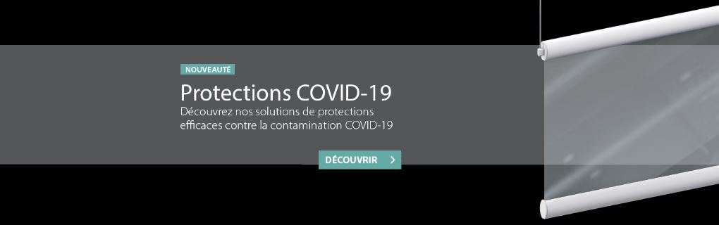 Découvrez les solutions de protection contre la contamination du COVID-19